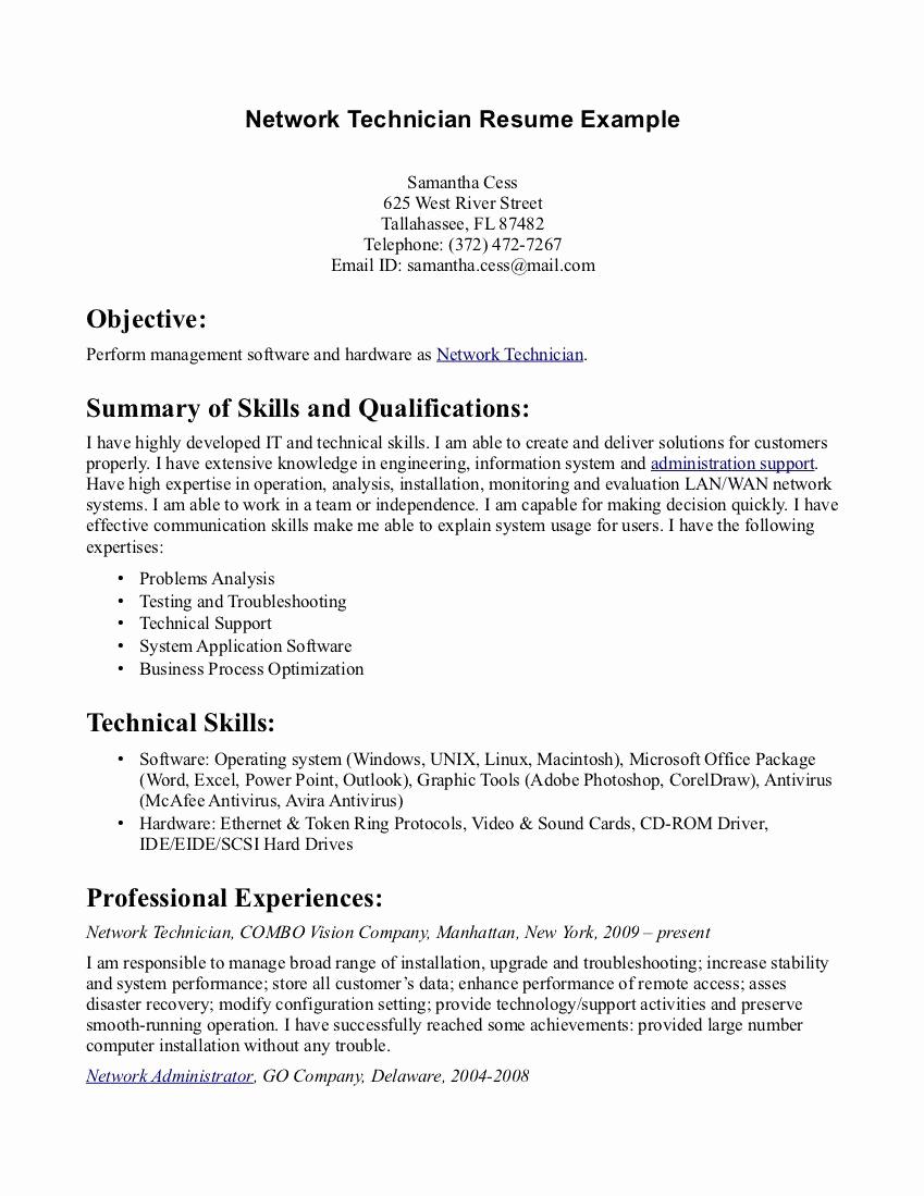 Pharmacy Technician Resume Sample Elegant Pharmacy Tech Resume Samples Sample Resumes