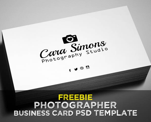 Photography Business Card Templates Awesome Freebie – Grapher Business Card Psd Template