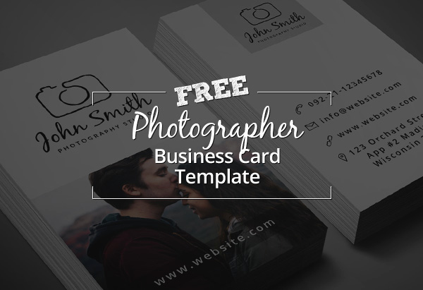 Photography Business Card Templates Fresh Freebie – Minimal Grapher Business Card Psd Template