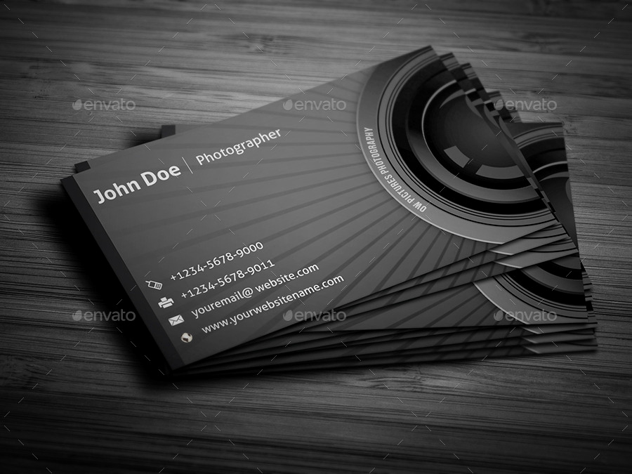 Photography Business Card Templates Fresh Grapher Business Card by Ow