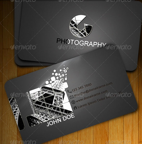 Photography Business Card Templates Inspirational 15 Creative Graphy Business Card Templates