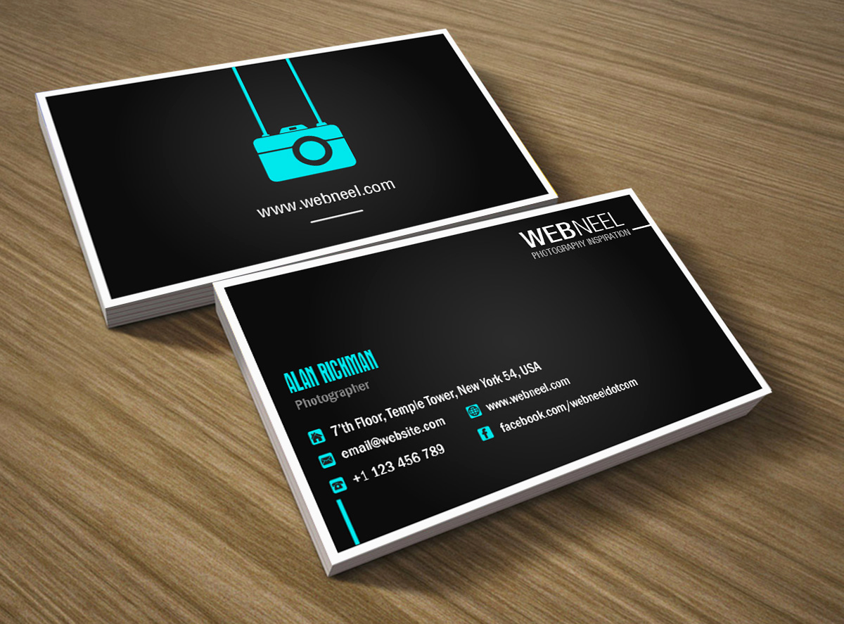 Photography Business Card Templates Inspirational Graphy Business Card Design Template 41