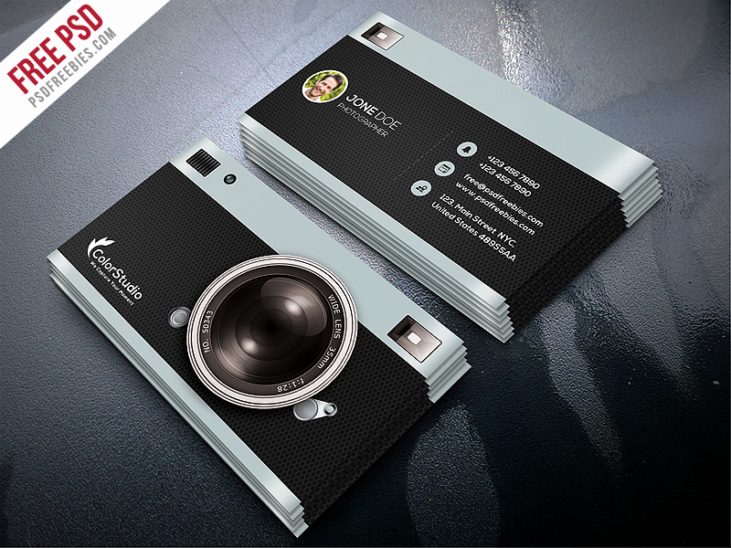 Photography Business Card Templates Lovely Psdfreebies Download Free and Premium Shop