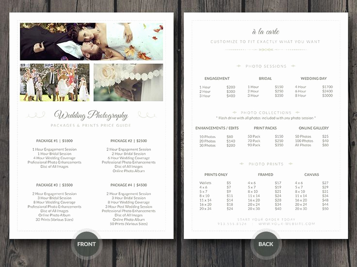 Photography Price List Template Best Of Best 25 Wedding Photographer Prices Ideas On Pinterest