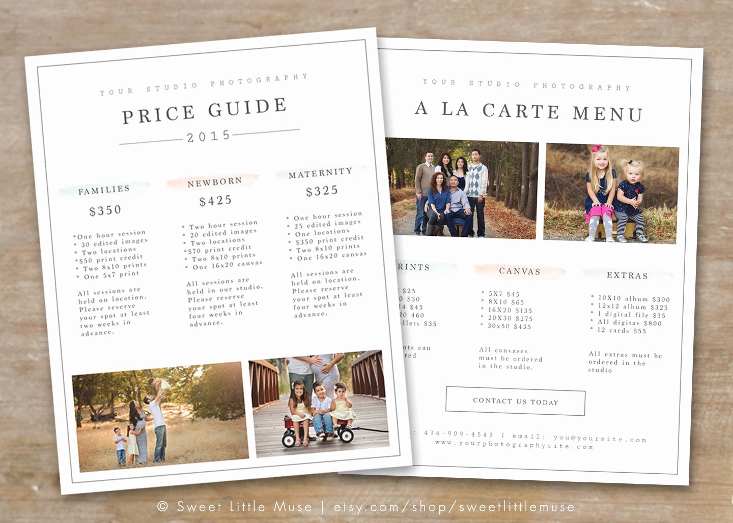 Photography Price List Template Fresh Graphy Price List Template Graphy Pricing Guide