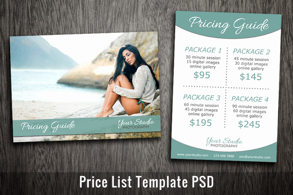 Photography Price List Template Lovely Furnitures Price Tag Sample Template In Shop