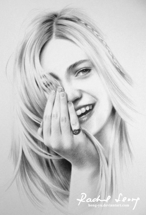 Photos to Pencil Sketches Elegant Beautiful Pencil Drawings by Leong Hong Yu