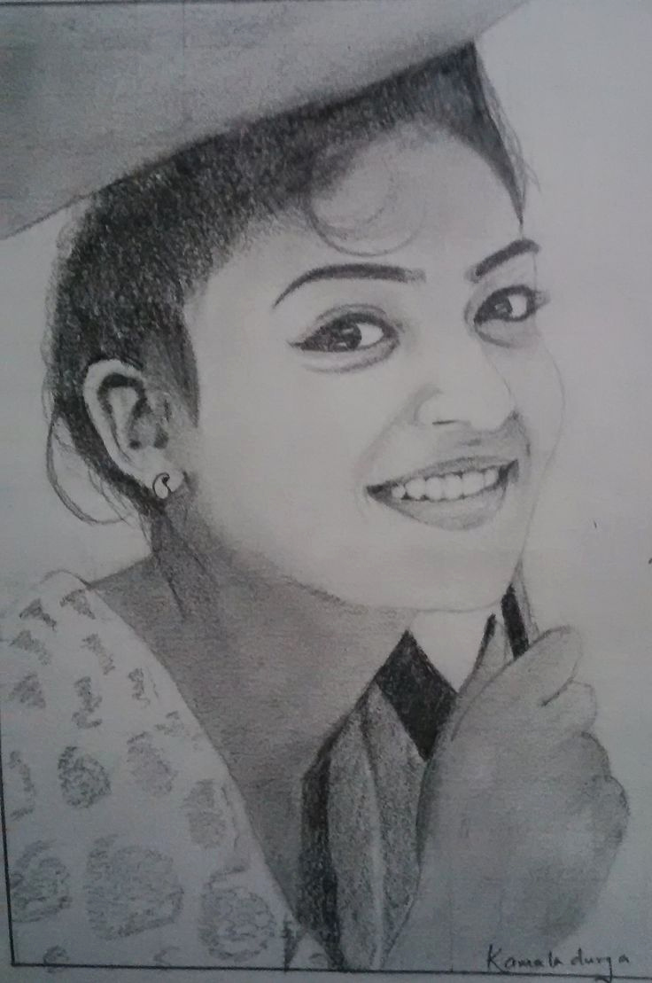 Photos to Pencil Sketches Inspirational Actress Nazriya Nazim My Drawings In 2019