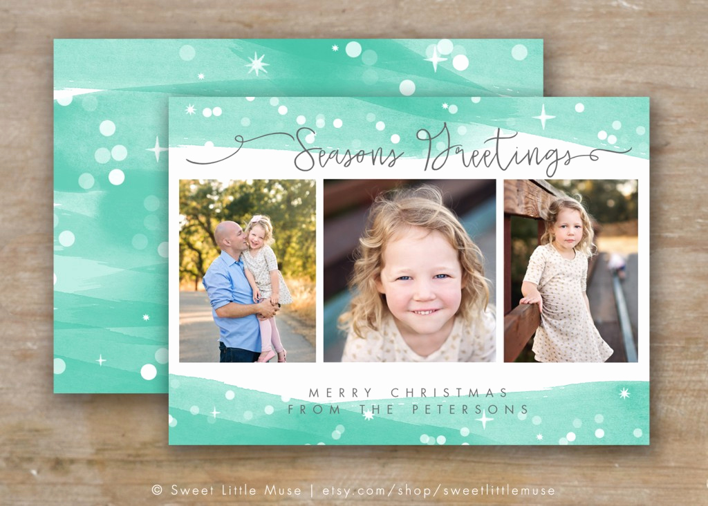 Photoshop Christmas Card Templates Elegant 30 Holiday Card Templates for Graphers to Use This