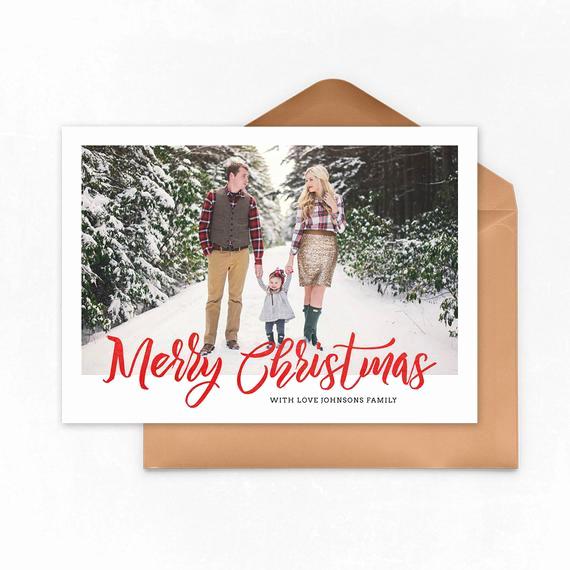 Photoshop Christmas Card Templates Inspirational Digital Shop Christmas Card Template for Photographers