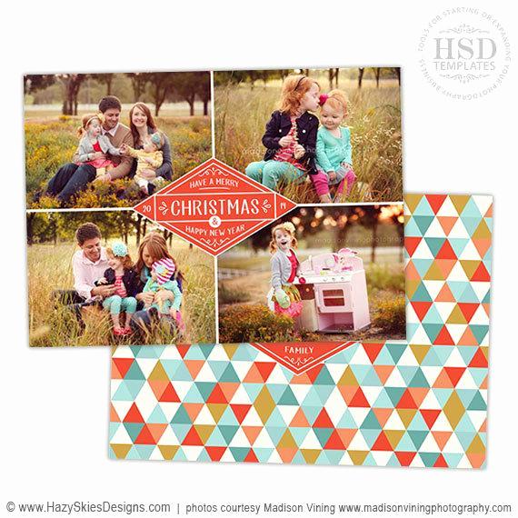 Photoshop Christmas Card Templates Lovely Items Similar to Christmas Card Template for Graphers