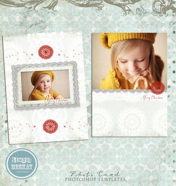Photoshop Christmas Card Templates Lovely Items Similar to Shop Christmas Card Template for