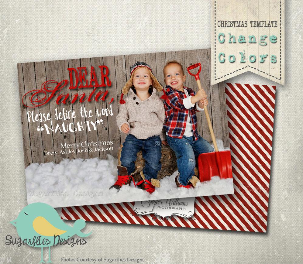 Photoshop Christmas Card Templates Luxury Christmas Card Photoshop Template Family Christmas Cards
