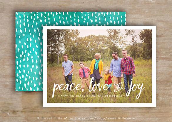 Photoshop Christmas Card Templates Unique 150 Christmas Card Templates – Free Psd Eps Vector Ai