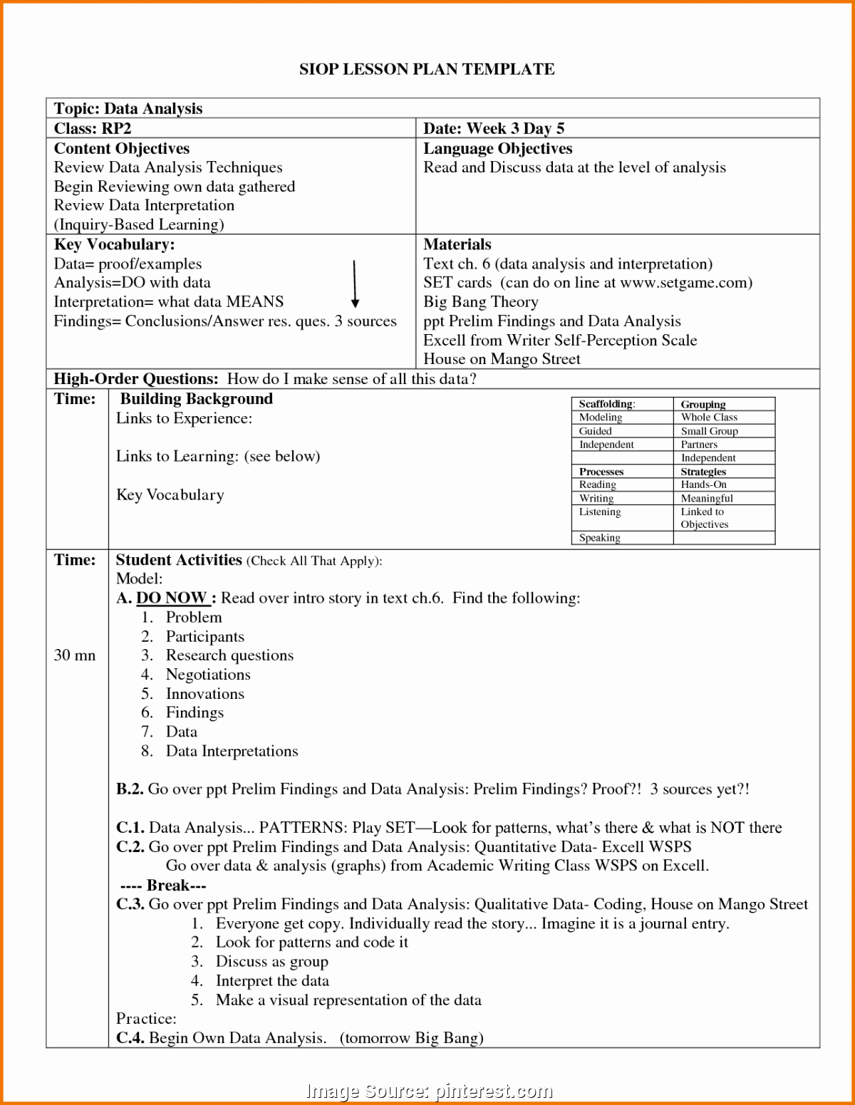 Physical Education Lesson Plans Template Fresh Plex Student Feedback Examples Quiz & Worksheet