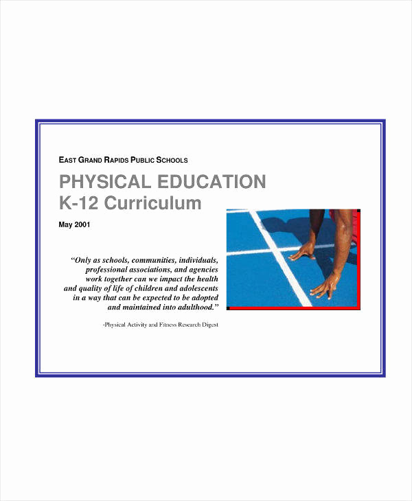Physical Education Lesson Plans Template Inspirational 7 Physical Education Lesson Plan Templates Pdf Word