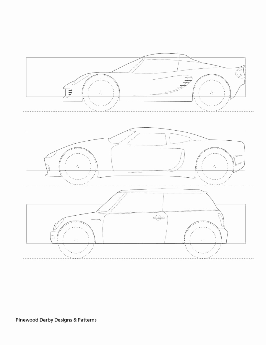 Pinewood Derby Car Design Template Fresh 39 Awesome Pinewood Derby Car Designs & Templates