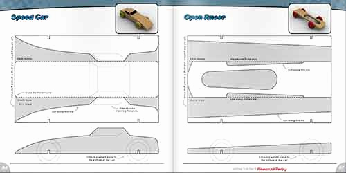 Pinewood Derby Car Design Template Inspirational Getting Started In the Pinewood Derby Book