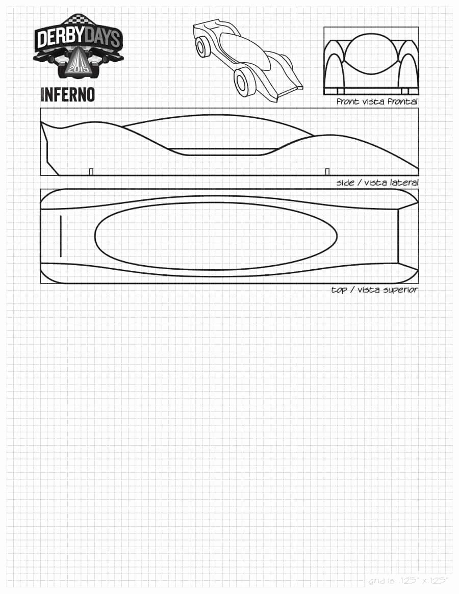 Pinewood Derby Car Design Template Unique 39 Awesome Pinewood Derby Car Designs & Templates