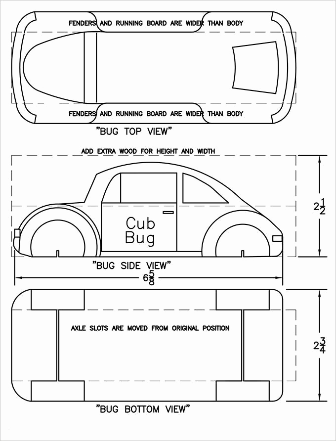Pinewood Derby Car Template Awesome Free Pinewood Derby Template Pinewood Derby