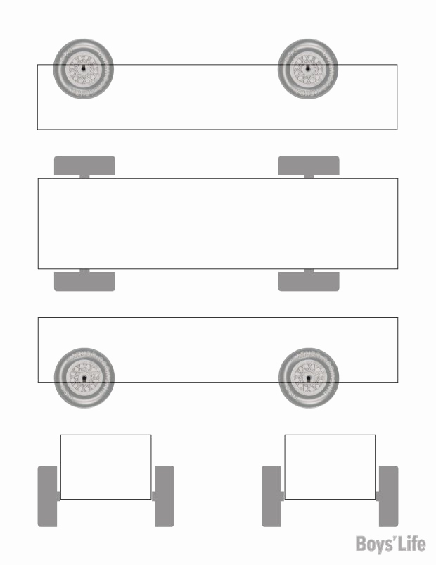 Pinewood Derby Car Template Elegant Download A Free Pinewood Derby Car Design Template – Boys