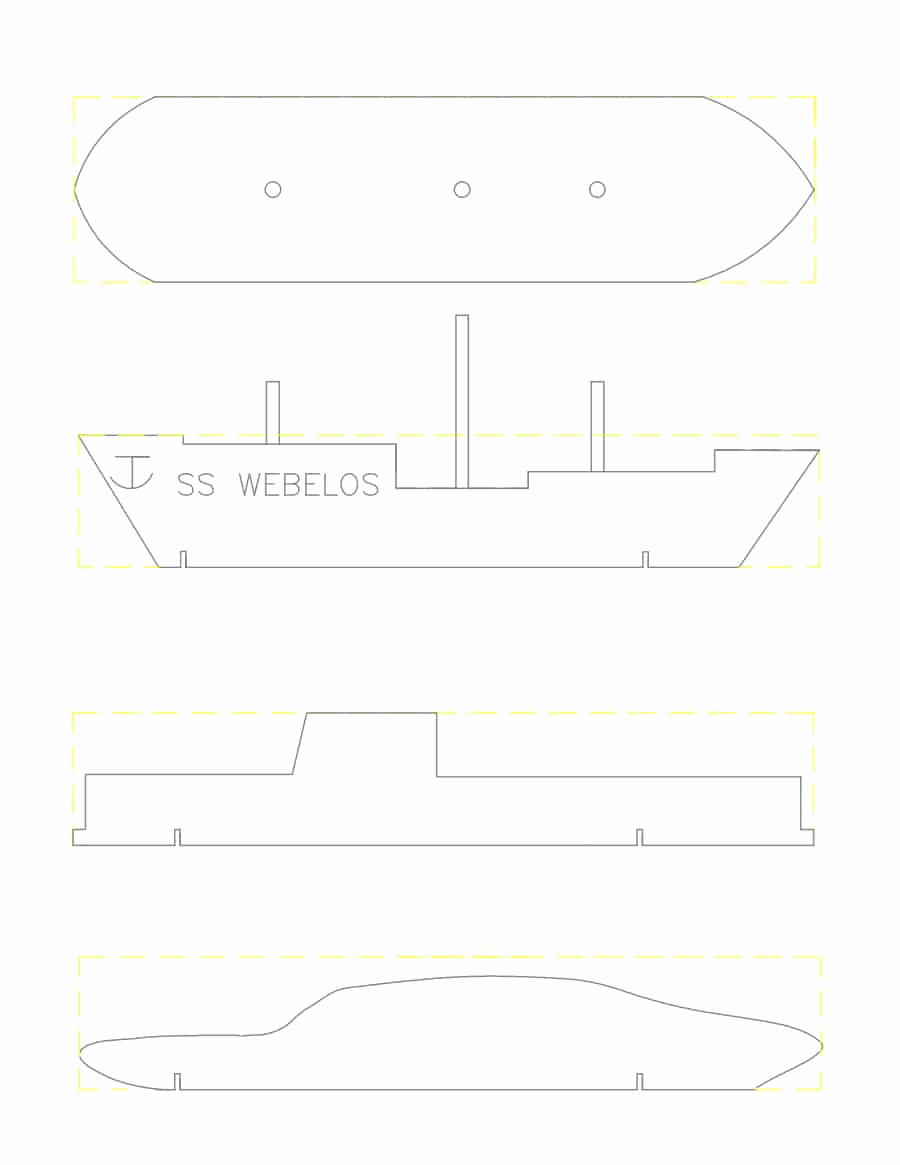 Pinewood Derby Car Template Lovely 39 Awesome Pinewood Derby Car Designs & Templates