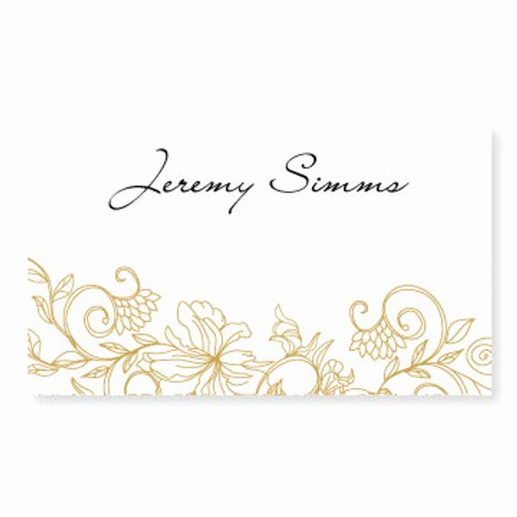 Place Card Templates Word Elegant Wedding Place Card Template Instant by Diyweddingtemplates