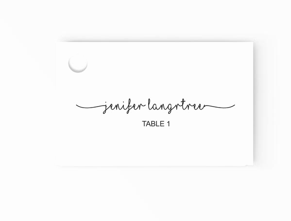 Placement Card Template Word Beautiful Wedding Escort Place Cards Editable Ms Word Template Diy