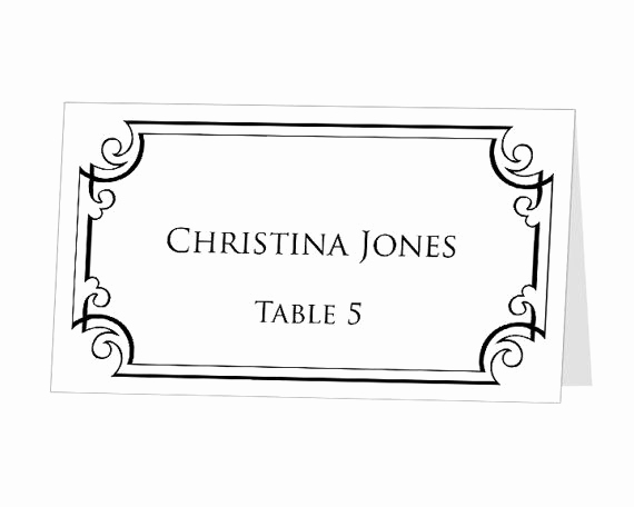 Placement Card Template Word Inspirational 35 Best Images About Menus Name Cards & Crafting Ideas