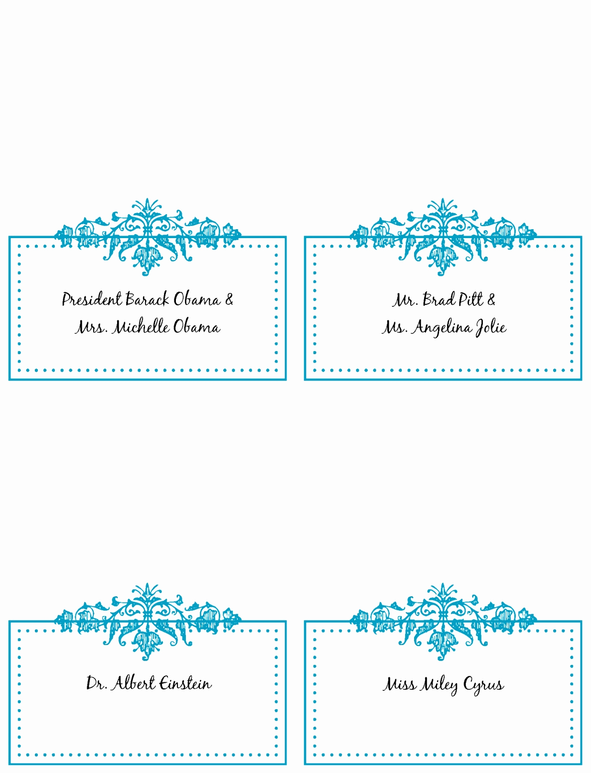 Placement Card Template Word Lovely 9 Place Card Template Word 6 Per Sheet Puiwy