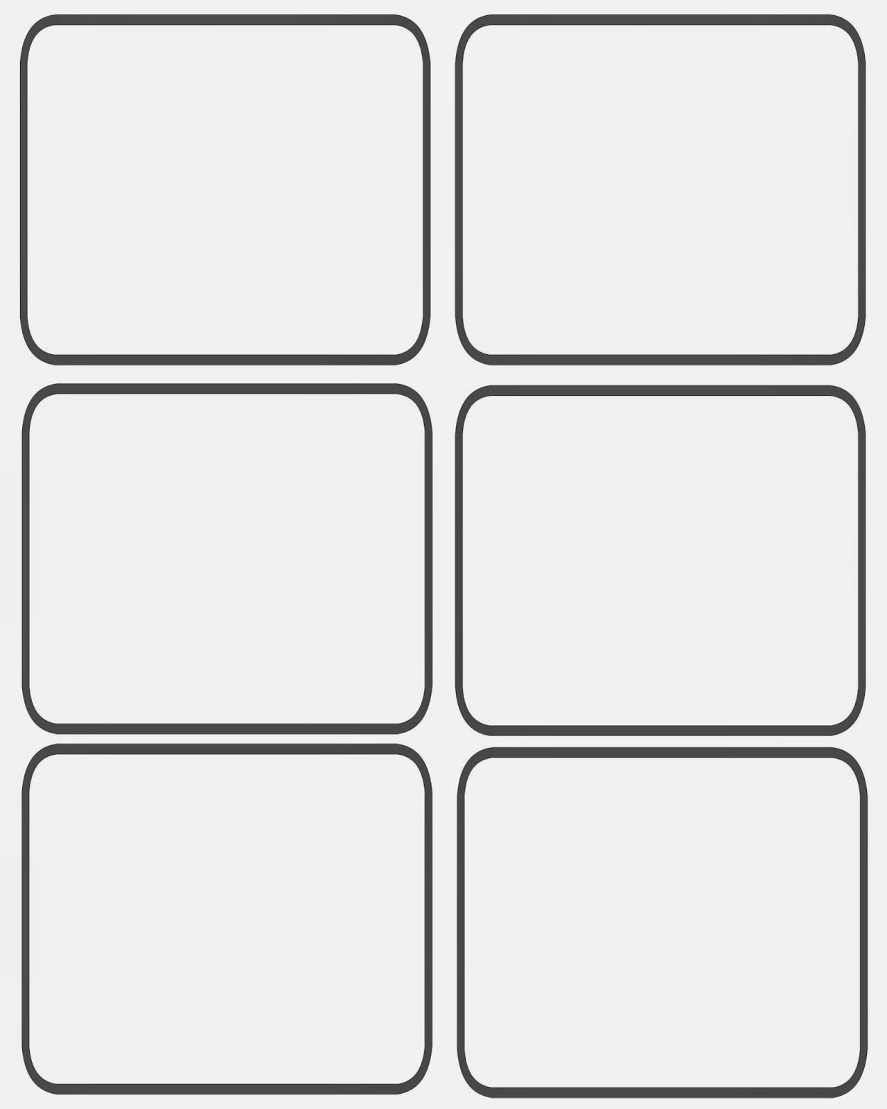 Playing Card Template Word Fresh Blank Game Cards