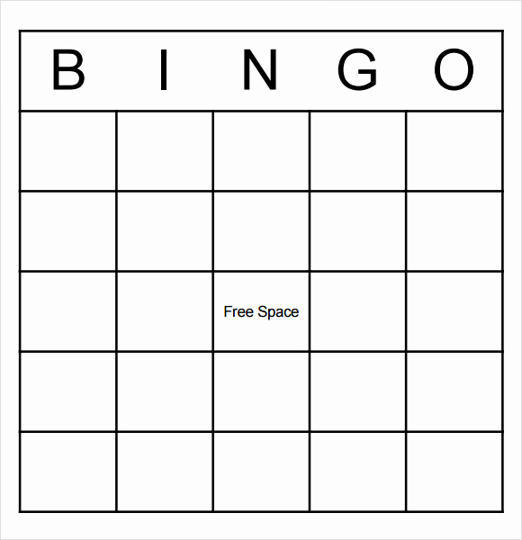 Playing Card Template Word Unique 9 Blank Bingo Samples Pdf Word