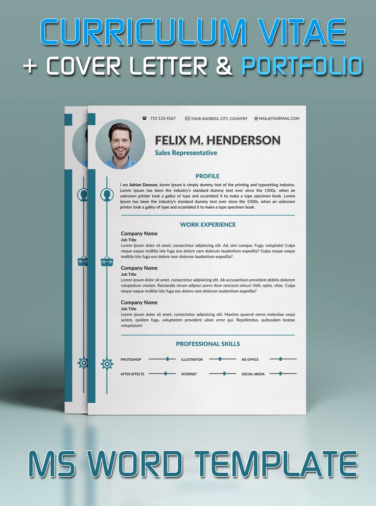 Portfolio Cover Page Template Elegant Resume Template In Microsoft Word Cover Letter and