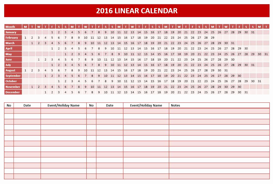 Power Point Calendar Templates Beautiful 2016 Calendar Templates