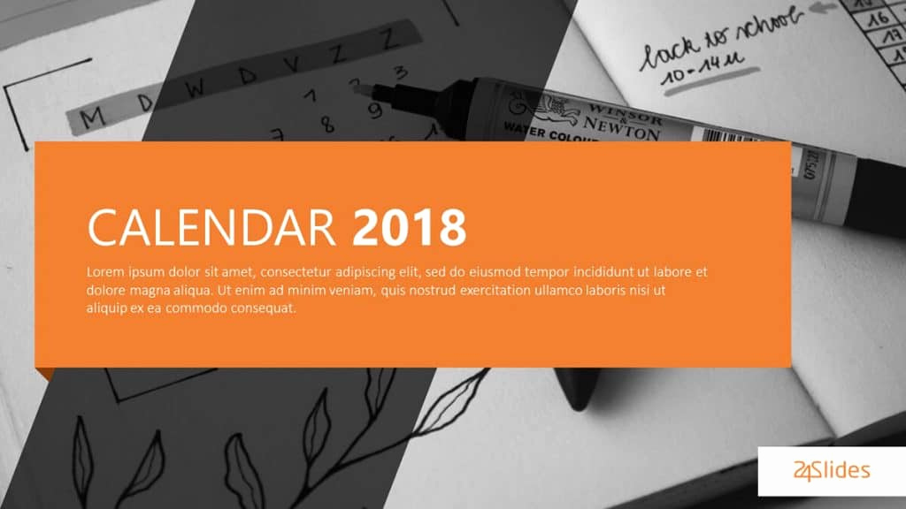 Power Point Calendar Templates New Best Free Powerpoint Calendar Templates the Internet