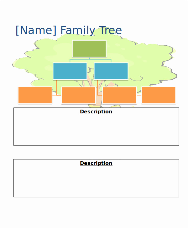 Powerpoint Family Tree Template Beautiful 19 Family Tree Templates