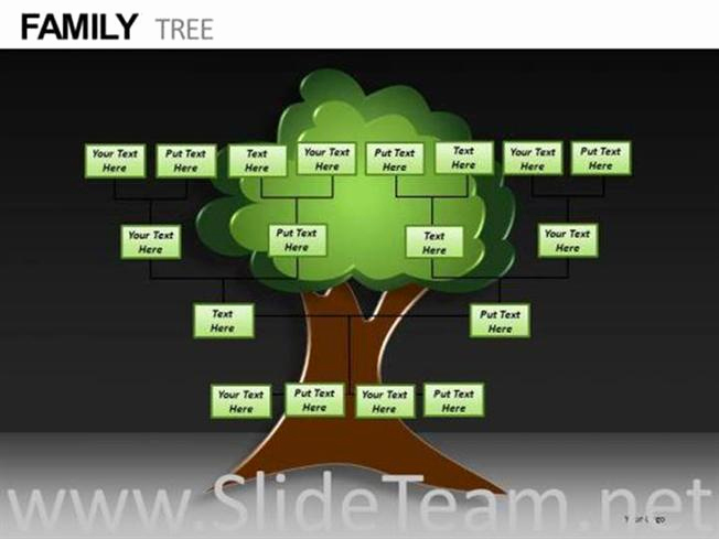 family tree ppt template
