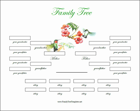 Powerpoint Family Tree Template Beautiful Family Tree Template 55 Download Free Documents In Pdf