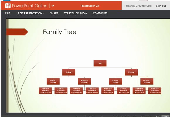 Powerpoint Family Tree Template Best Of Family Tree Chart Maker Template for Powerpoint Line