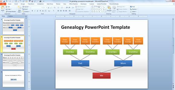Powerpoint Family Tree Template Fresh How to Make A Genealogy Powerpoint Presentation Using Shapes