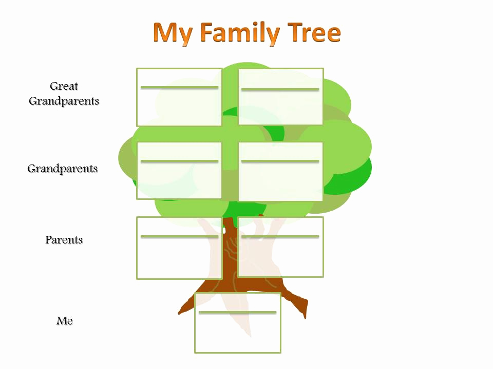 Powerpoint Family Tree Template New Primary Ks2 Family Tree Template – Ancestry Talks with