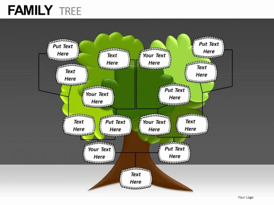 Powerpoint Family Tree Template Unique Free Editable Family Tree Template
