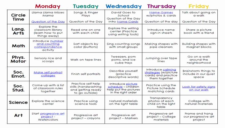 Pre Kindergarten Lesson Plan Template Best Of Lesson Plans Reggio Google Search