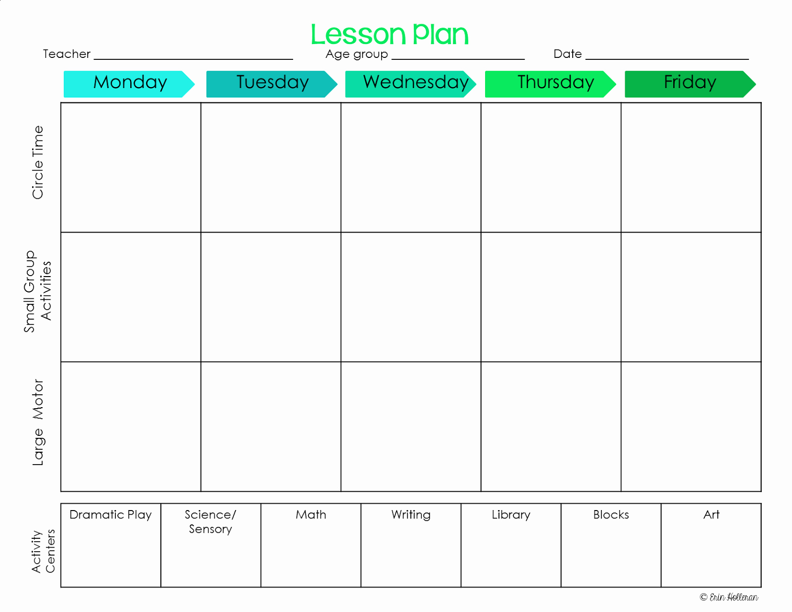 Pre Kindergarten Lesson Plan Template Lovely Preschool Ponderings Make Your Lesson Plans Work for You