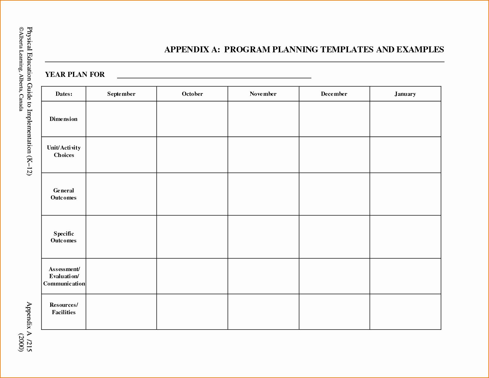 Prek Lesson Plan Templates Elegant 5 Free Lesson Plan Template