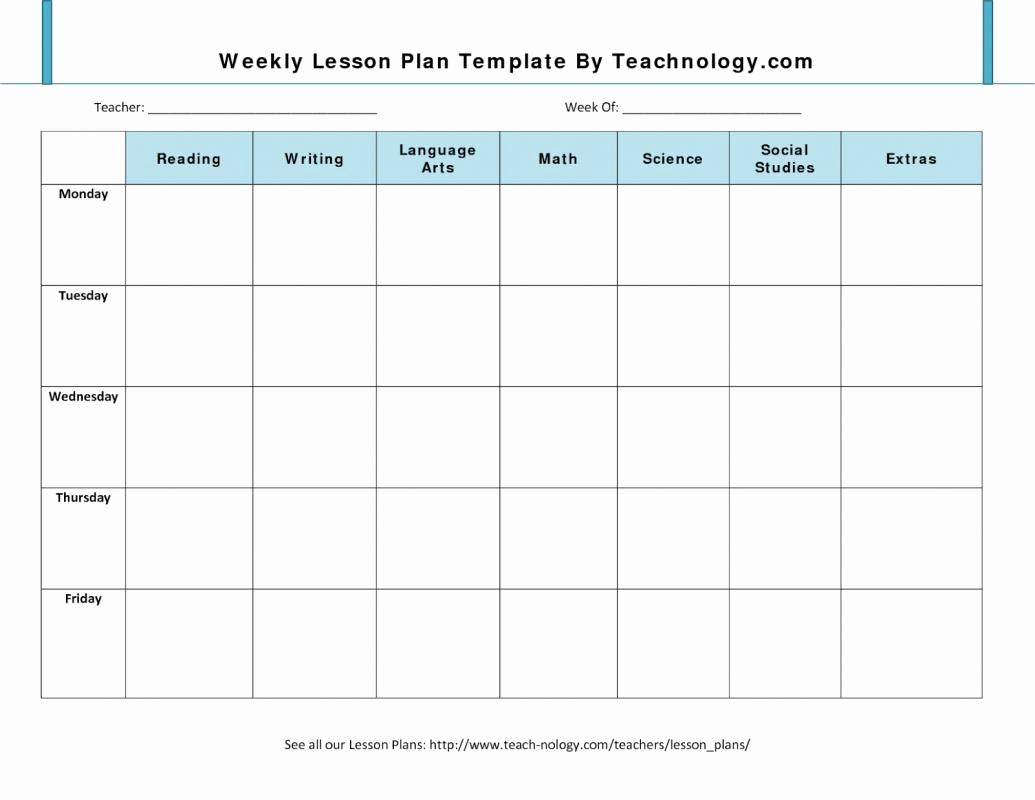 Prek Lesson Plan Templates Elegant Prek Lesson Plan Templates