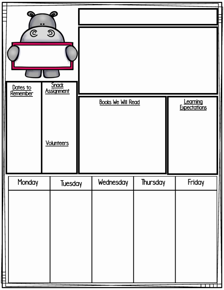 Prek Lesson Plan Templates Luxury Teach Pre K Free Lesson Planning Templates & Planning