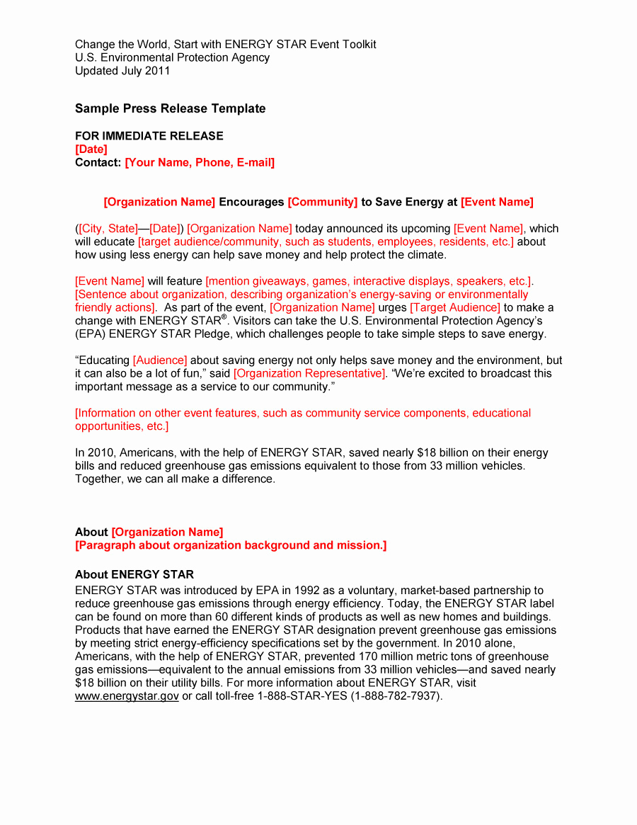Press Release format Template Best Of 47 Free Press Release format Templates Examples & Samples