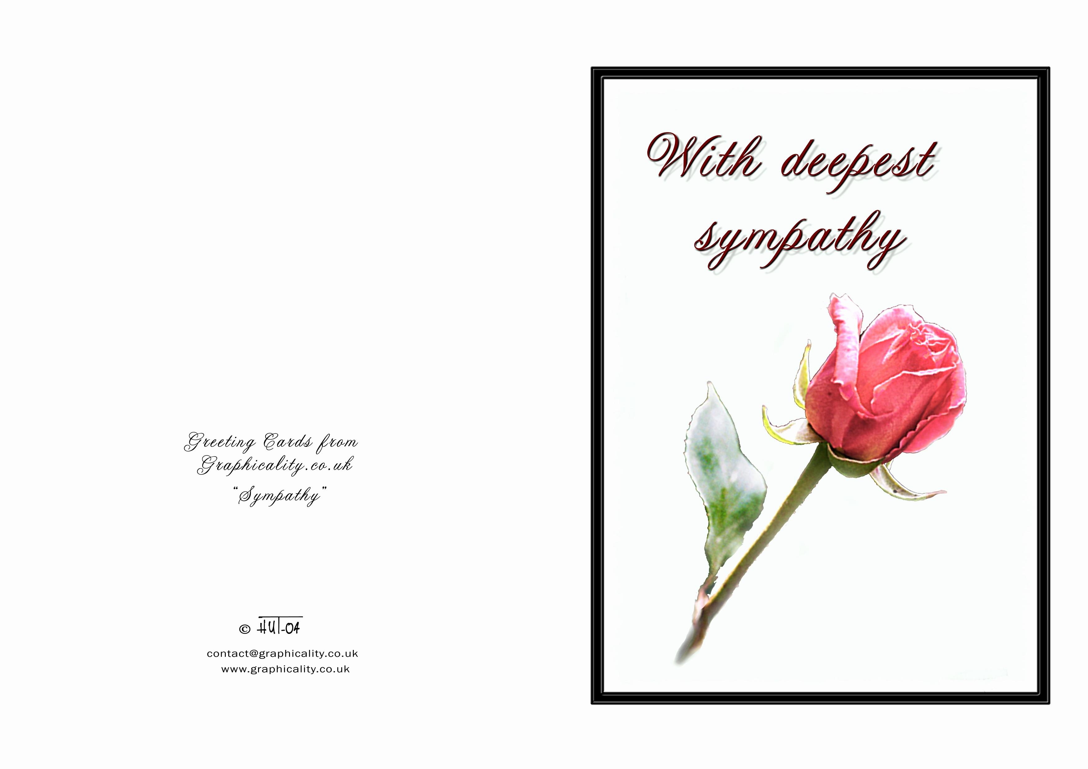 Print Out Sympathy Card Unique Free Printable Sympathy Cards