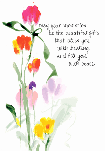 Print Out Sympathy Cards Lovely Beautiful Cards for Anniversary Of Death